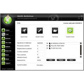 AMITI Antivírus - doživotní licence pro 3PC + USB klíč